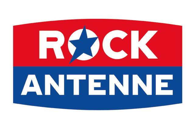 Logo rozhlasové stanice Rock Antenne - verze 2018