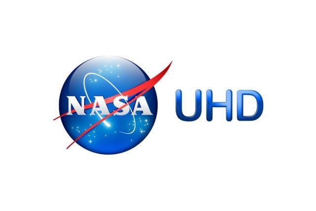 Logo tematického kanálu NASA TV UHD