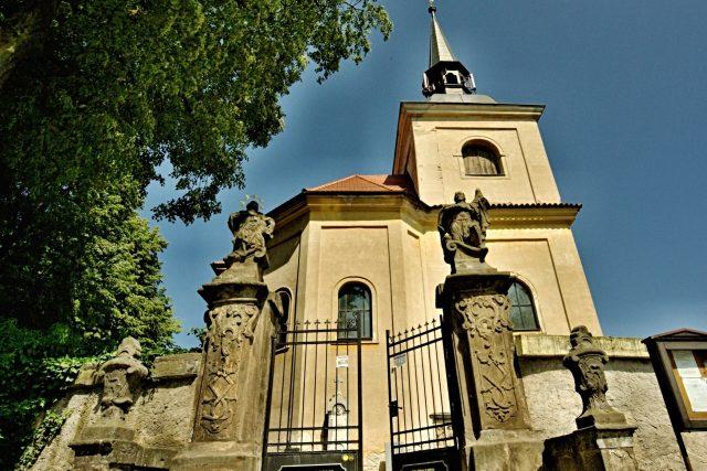 Kostel Panny Marie Bolestné ze strany od Sudslavi