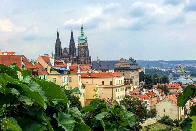 Pražský hrad s Katedrálou svatého Víta