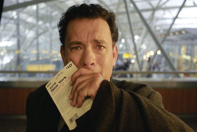 Scéna z filmu Terminál