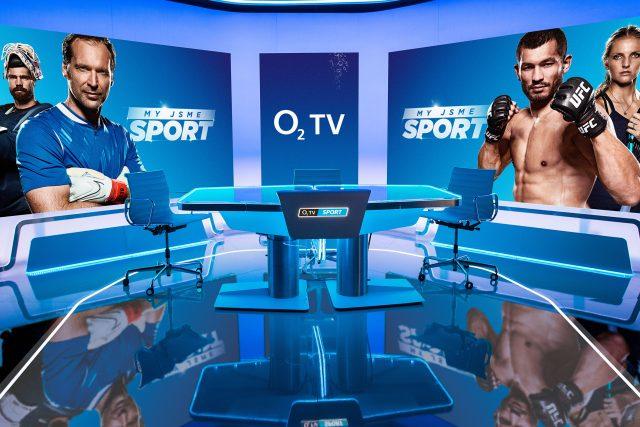 Nové studio placené televize O2 TV Sport | foto: O2 Czech Republic