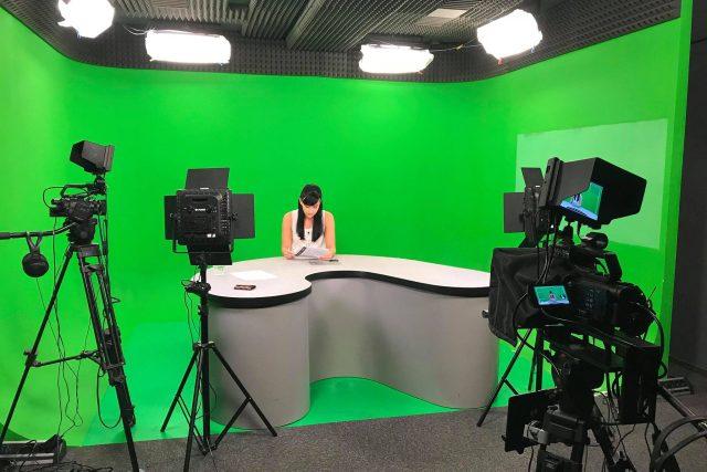 Studio metropolitní stanice Praha TV