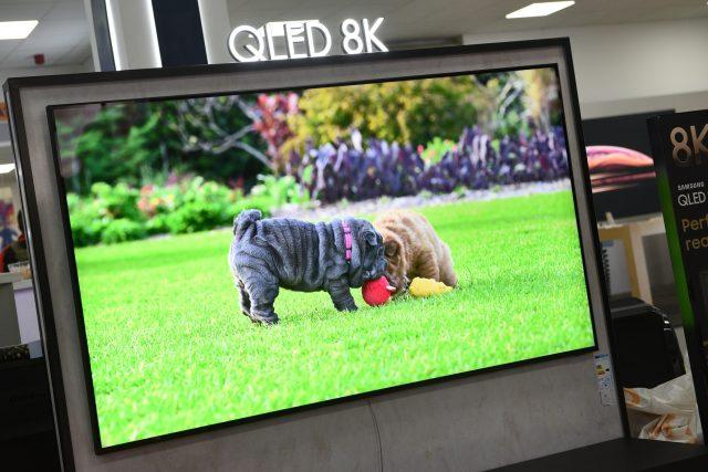 8K QLED televizor jihokorejské společnosti Samsung