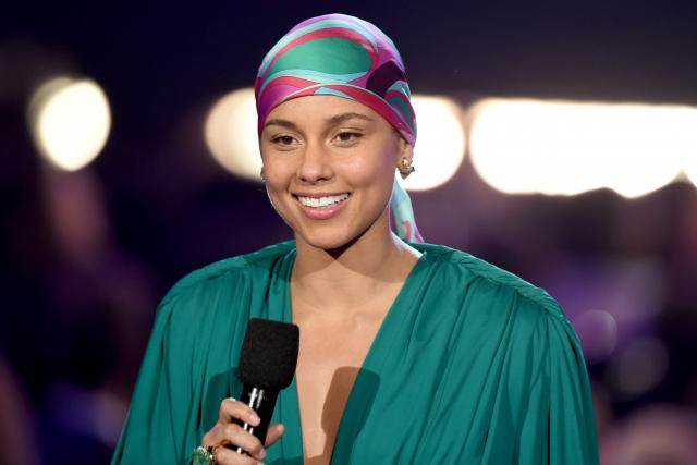 Alicia Keys na předávání cen Grammy 2019