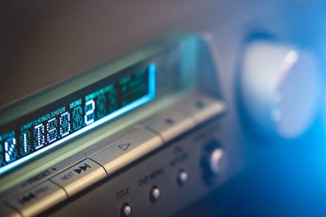 Displej rozhlasového přijímače, analogové rádio