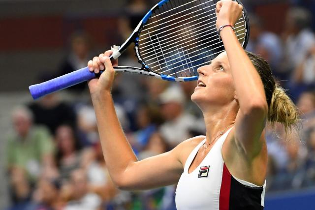 Karolína Plíšková ve vysílání kanálu O2 TV Sport