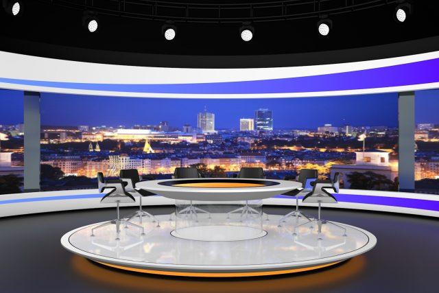 Vizualizace nového zpravodajského studia TV Nova | foto: TV Nova