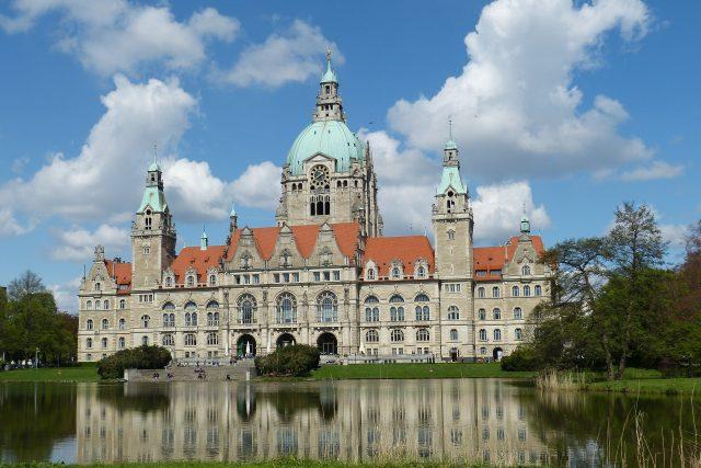 Historické centrum Hannoveru, metropole Dolního Saska