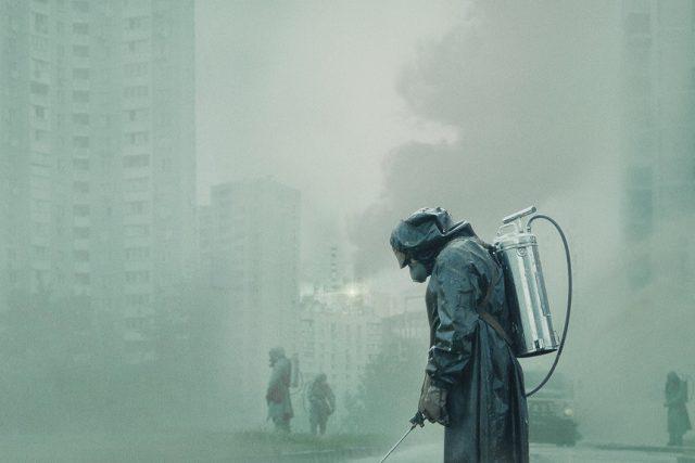 Scéna ze seriálu Černobyl, který se stal nejlépe hodnoceným ve své kategori v databázi IMDb