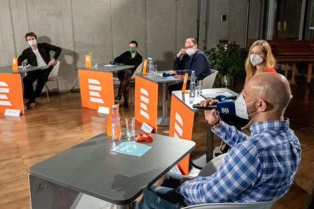 Debata Plusu na téma školství | foto: Khalil Baalbaki,  Český rozhlas
