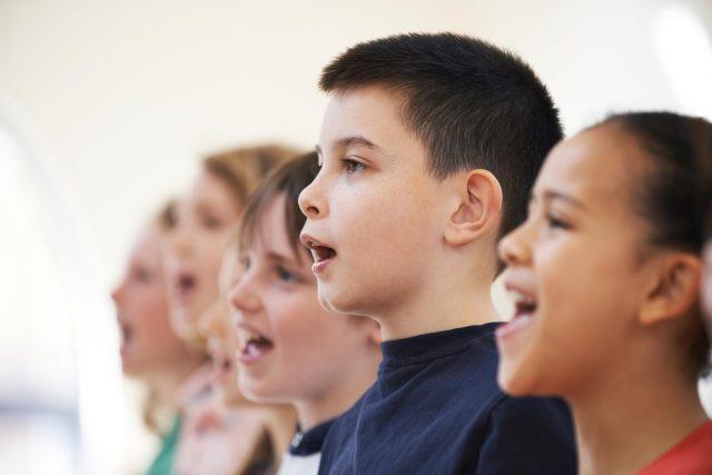 Zpěv, zpívání, pěvecký sbor, děti