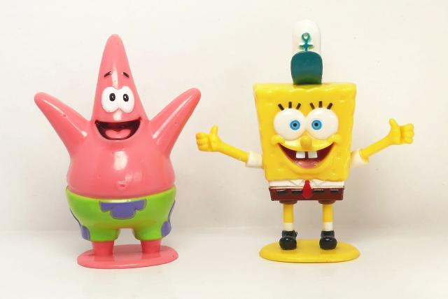 Ze seriálu Spongebob v kalhotách