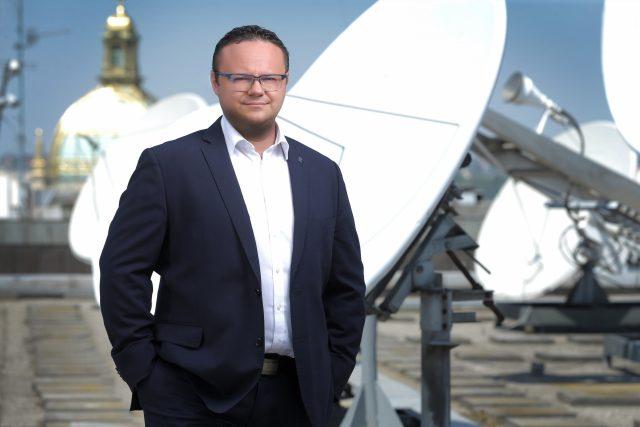 Generální ředitel Českého rozhlasu René Zavoral
