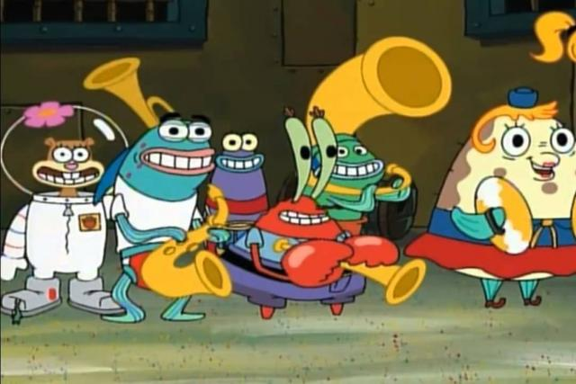 Ze seriálu Spongebob