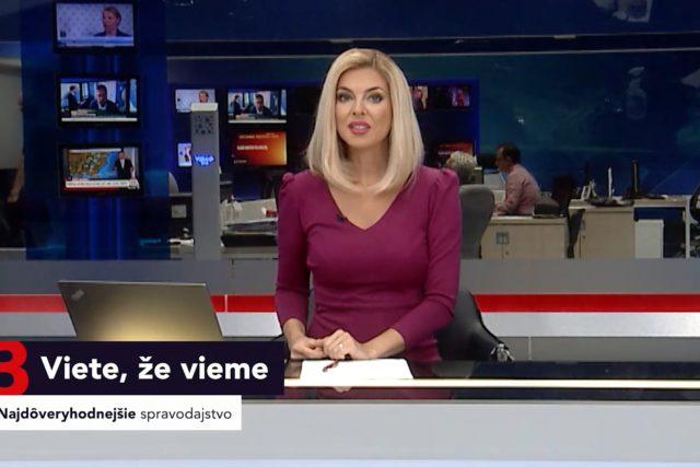 Nový vizuál slovenské zpravodajské stanice TA3 | foto: repro TA3
