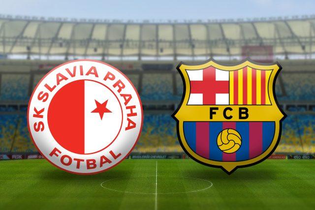 Liga Mistrů: Slavia Praha vs. FC Barcelona