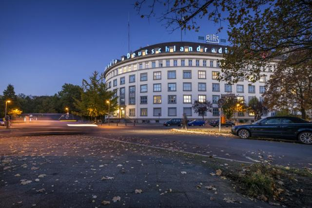 Vysílací dům Deutschlandradio v Berlíně