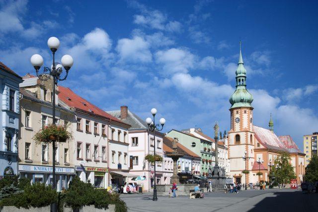 Náměstí v Sokolově  (ilustrační foto) | foto: Fotobanka Profimedia